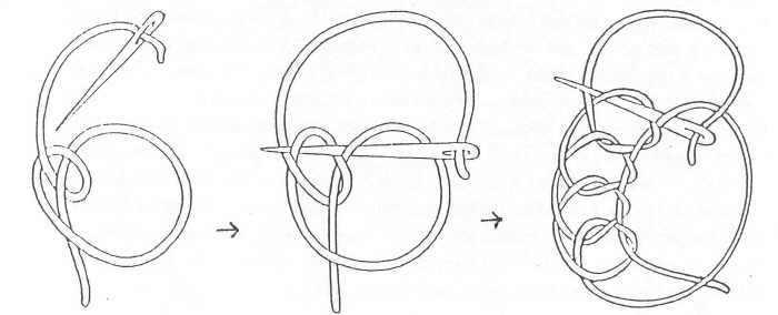 (основные) схемы вязания: